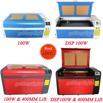 RECI 100W CO2 Laser Engraving Cutting Machine Engraver Variety of configurations