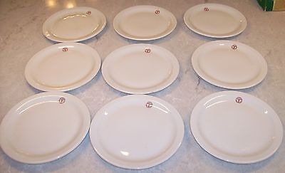 "Shenango CHINA 7"" PLATE US ARMY MEDICAL DEPT USA Military (9 Available)"