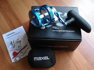 "**NEW** Maxel Sealion OSL06 PE4 Power Ratio OH Jigging Reel + 10% OFF ""DEALS10"""