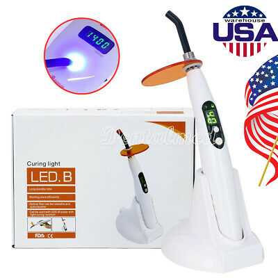 Woodpecker Style Wireless Dental LED Curing Composite resin Light Lamp LED.B