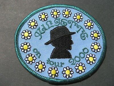 "Girl Guides Scouts  ""juliette On Tour - 2000"" Patch Brownies"