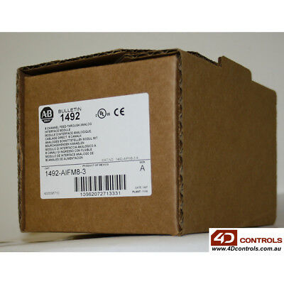 Allen Bradley 1492-AIFM8-3 8 Channel Input or Output - New Surplus Sealed - S...
