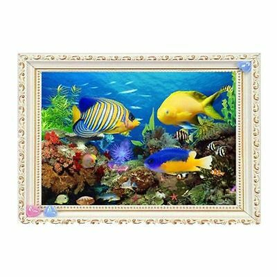 "Diamond Painting - Diamant Malerei - Stickerei - ""Fische"" - Set - Neu (550)"