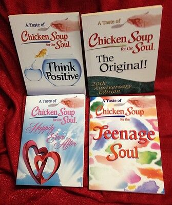 Lot of 4 Chicken Soup for the Soul Original Think Positive Happy Ever After Teen