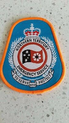 Northern Territory Emergency Service - Division Of Police & Fire - Patch