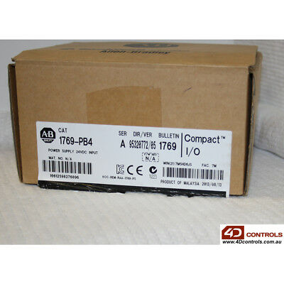 Allen Bradley 1769-PB4 CompactLogix Power Supply - New Surplus Sealed - Series A