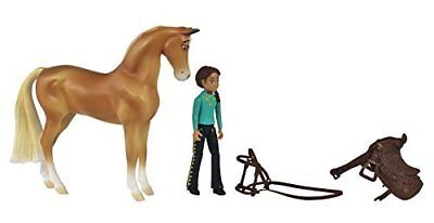 Breyer Spirit Riding Free-Chica Linda and Pru Small Horse Doll Toy Set