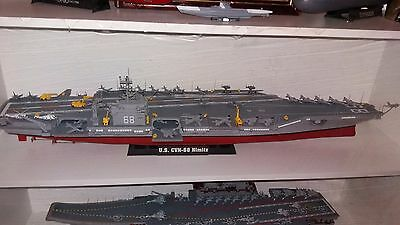 1/350 USS Nimitz Carrier. Built and painted.