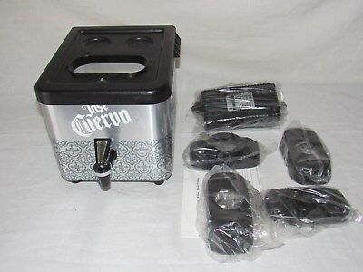 New Jose Cuervo Silver Tequila Shot Chiller Never Used