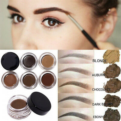 Pomade Long Lasting Eyeliner Gel Eyebrow Cream Brush Waterproof Makeup Cosmetic