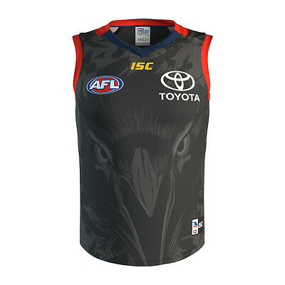 Adelaide Crows AFL 2017 ISC Training Guernsey Adults Sizes S-3XL! In Stock!