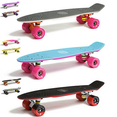 "Skateboard 22"" 23"" 27"" Penny Board Retro Mini Cruiser Board Komplettboard"
