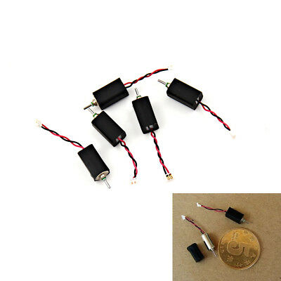 5PCS 4x8mm DC 3.7V 66000RPM Ultrahigh High Speed Micro Mini Coreless Motor UK