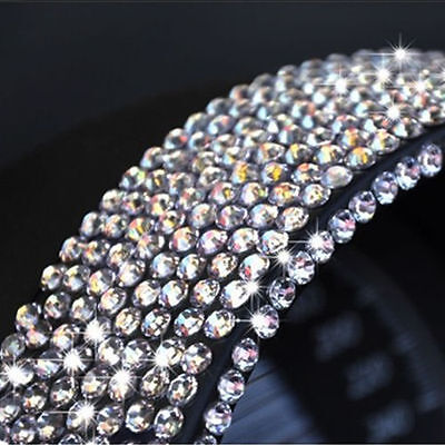 775 3MM Silver Crystal Rhinestone Self Adhesive Stick On Assorted Gems