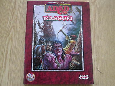 Advanced Dungeons & Dragons. Rassen, ad&d-Monsterset. Amigo, Dietzenbach 1998.