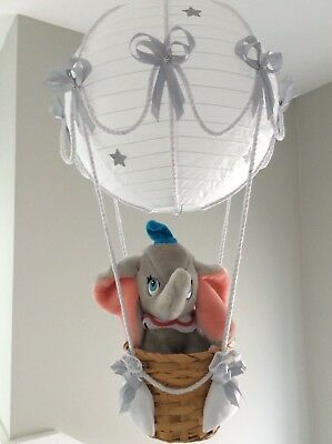 Dumbo in a Hot Air Balloon Light Shade