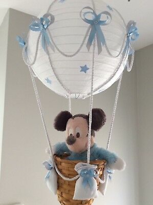 Baby Micky  in a Hot Air Balloon Light Shade