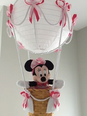 Minnie mouse  in a Hot Air Balloon Light Shade