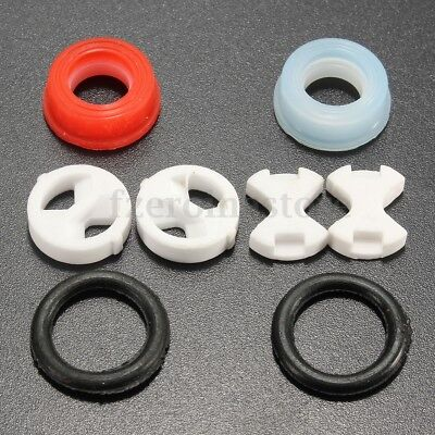 10x Ceramic Disc &Silicon Washer insert Turn 1/2'' Replacement Set for Valve Tap