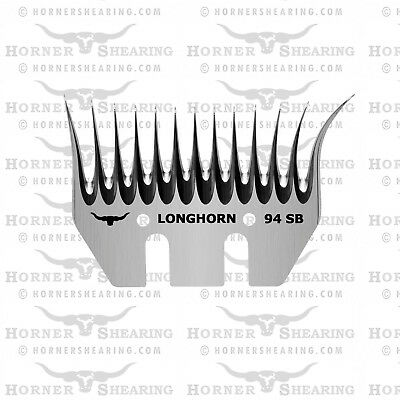 Longhorn Wide Sheep Shearing Combs For Lister, Heiniger, Supershear, Horner