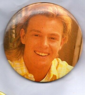 JASON DONOVAN LARGE BUTTON BADGE 80s POP ERA - Two Many Broken Hearts  55mm pin
