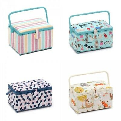 Sewing Box Deep Fill Rectangle Sewing Basket Storage Craft