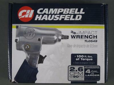"""Brand New Campbell Hausfeld 3/8"""" Air Pneumatic Impact Wrench TL0549"""