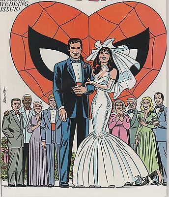 The Amazing Spider-Man Giant-Size Annual #21 VF 1987 ~ Wedding