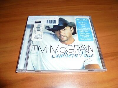 Southern Voice by Tim McGraw (CD, Oct-2009, Curb) NEW