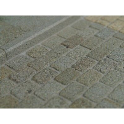 Grey Cobble Stones Coverage: 100 sq ins - 645 sq cms, Dolls House Miniatures