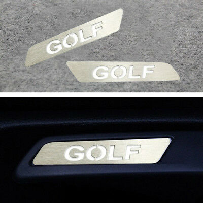 2Ps GOLF Lift Wrench Seat Insert Trim Car Sticker for VW GOLF MK5 6