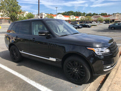 2015 Land Rover Range Rover Supercharged Sport Utility 4-Door 15 SUPERCHARGED BLACK 21 WHEELS 4 ZONE CLIMATE VISION ASSIST $0 DN $939/MO