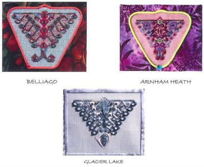 Threedles Flights Of Fancy -3 Butterfly Designs-Approx 80x64 Stitches Each