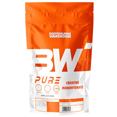 Pure 1kg Creatine Monohydrate Powder 200 Servings Micronised Creatine Free P&P