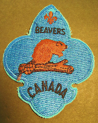 Boy Scouts Canada Beavers Embroidered Patch