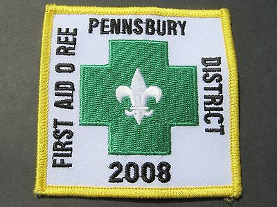 Boy Scouts Of America Bsa Pennsbury Dist. First Aid O Ree 2008 Penn. Patch