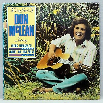 DON MCLEAN - The Very Best Of - Vinyl LP UAG 30314 England 1980 Great Condition!