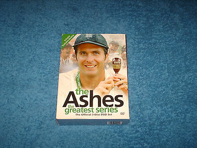 the ashes greatest series the official 3 disc dvd set