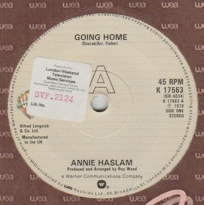 "Annie Haslam ""Going Home/Inside My Life"" WB 1978 7"""