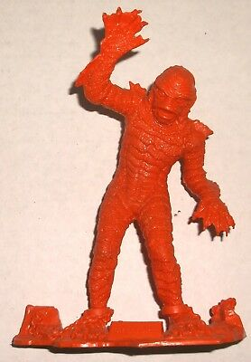 Marx CREATURE FROM THE BLACK LAGOON red / orange UNIVERSAL MONSTER FIGURE