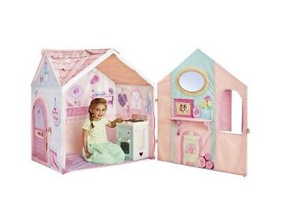 Dream Town Rose Petal Cottage And Cooker Playset Kids Interactive House Roleplay