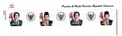 Indonesia National Leaders Stamps 2002