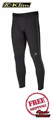 Klim 2018 Aggressor Warm 1.0 Under Pant Base Layer New Free Shipping Men's Black