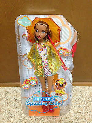 2008 Barbie My Scene Madison Westley Doll Splashy Chic Highlighted Hair Rare