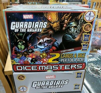 Dice Masters: Guardians of the Galaxy Gravity Feed Booster Box - New - Marvel