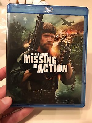 MISSING in ACTION (2012) Blu-ray DVD Chuck Norris M.Emmet Walsh 1984'S Like New