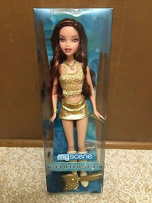 Barbie My Scene Club Disco Chelsea Doll Golden Outfit New Rare