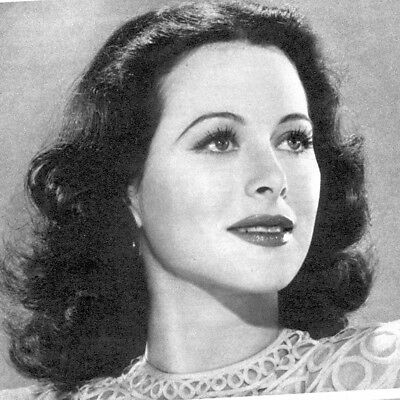 8 X 10 Reproduction Photo Of Heddy Lamar