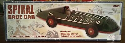 Schylling Race Car Collector Series Spiral Race Car w/ Wind Up Motor