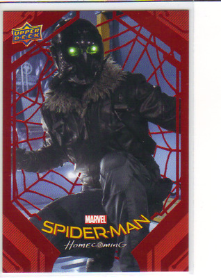 2017 UD Spider-Man Homecoming #81 Vulture Red Parallel Card Marvel #188/199